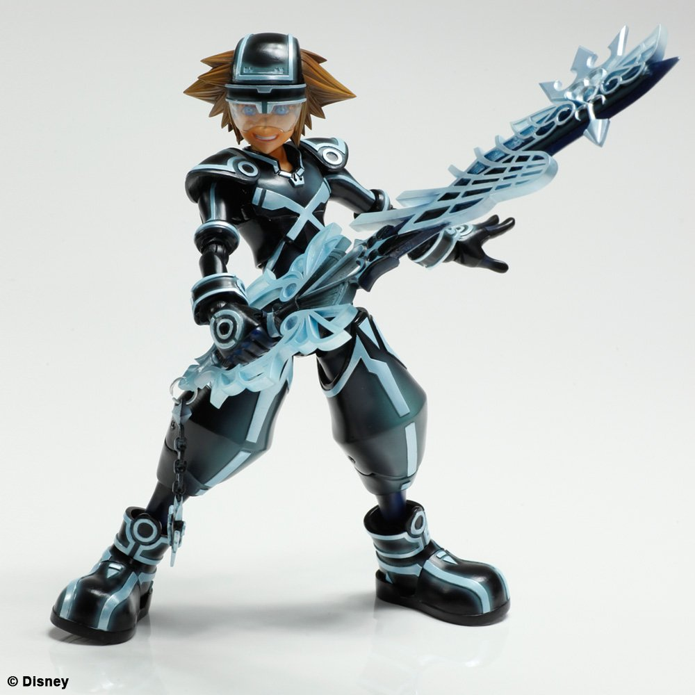 KINGDOM HEARTS 3D  Dream Drop Distance  Sora  amp  Riku Play Arts TRON    Kingdom Hearts Dream Drop Distance Riku Keyblades