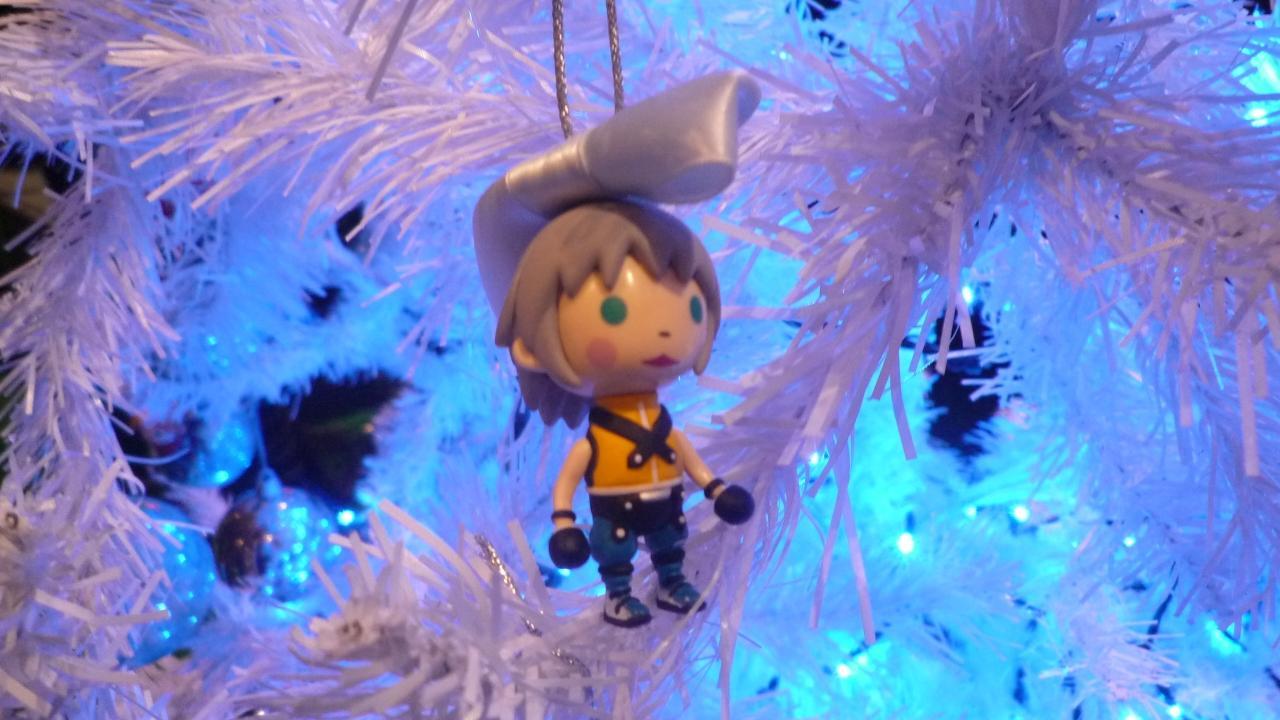 Kingdom Hearts Avatar Christmas Decorations at Jump Festa ...