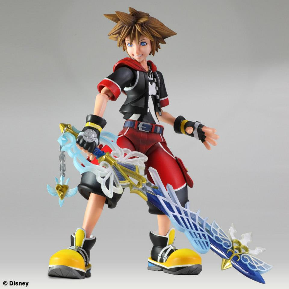 Sora Kingdom Hearts Image 745376: KINGDOM HEARTS 3D Sora And Riku PLAY ARTS Kai Revealed