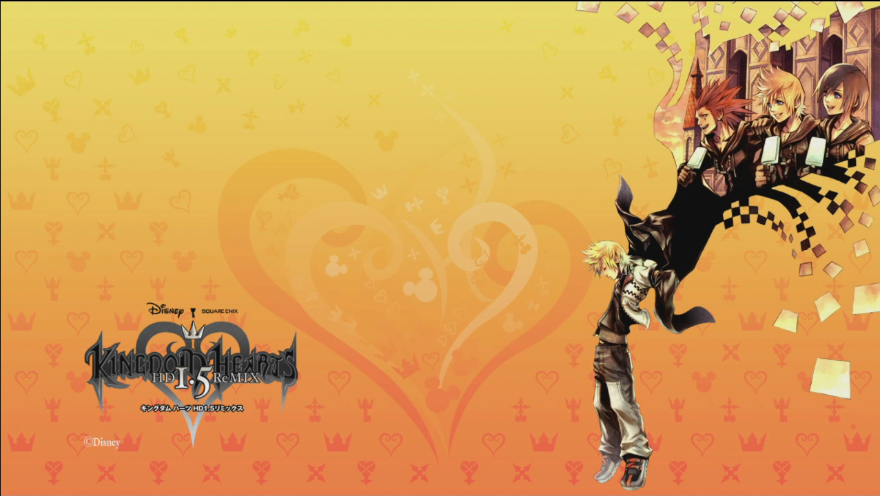 Pictures of HD 1 5 ReMIX PS3 Themes! - News - Kingdom Hearts Insider