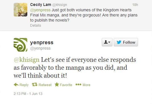 Let Your Voice Be Heard for KINGDOM HEARTS Novels! - News - Kingdom Hearts Insider