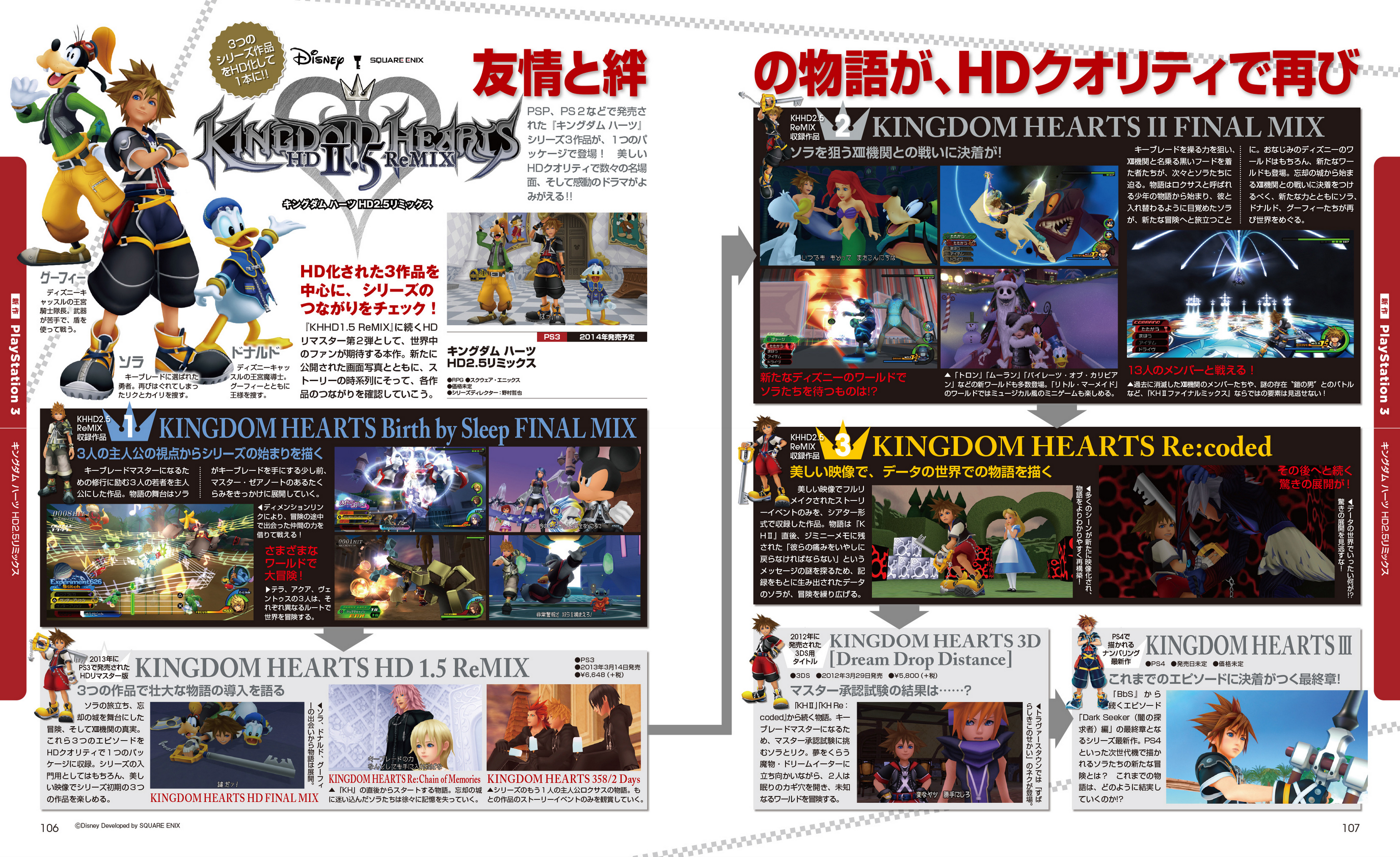Image result for kingdom hearts hd 2.5 remix famitsu scan 3
