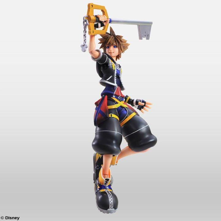 Sora Kingdom Hearts Kingdom Hearts: A Look At Kingdom Hearts II Sora & Roxas Play Arts Kai