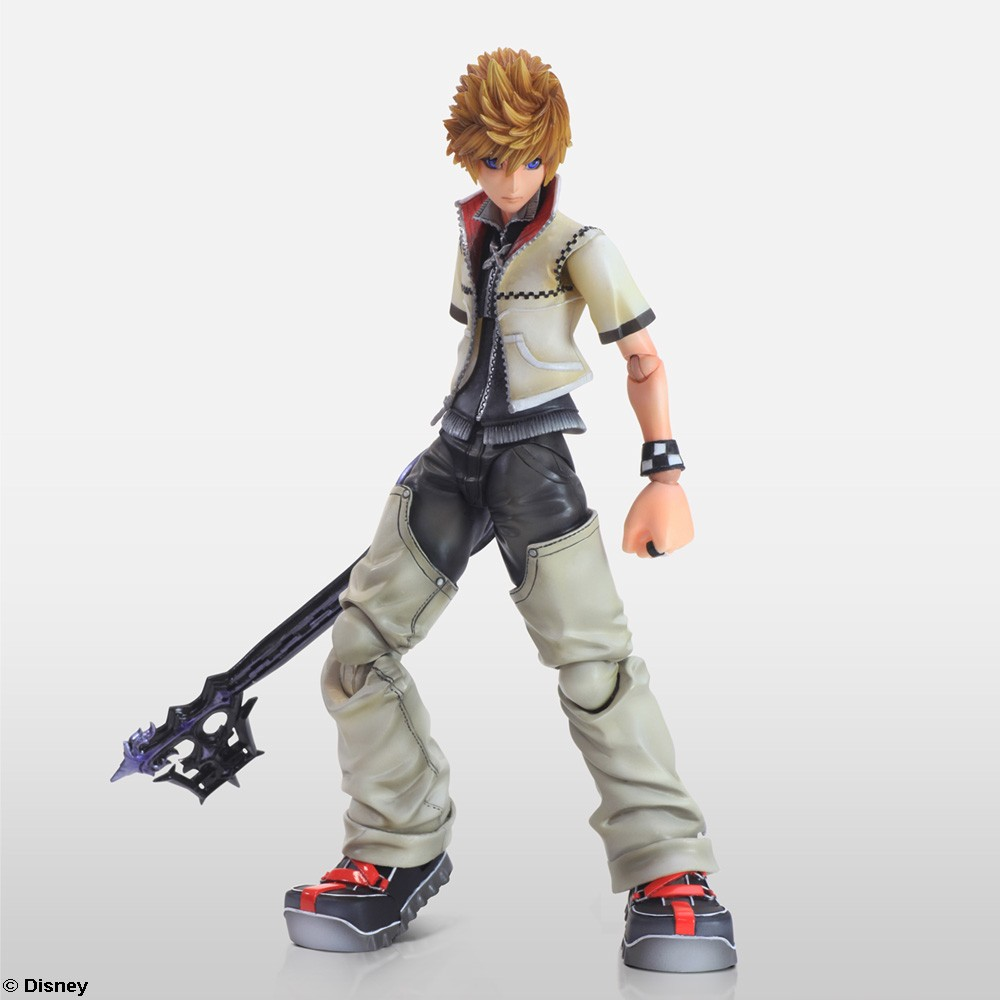 Kingdom hearts ii play arts kai release date new images - Kingdom hearts roxas images ...