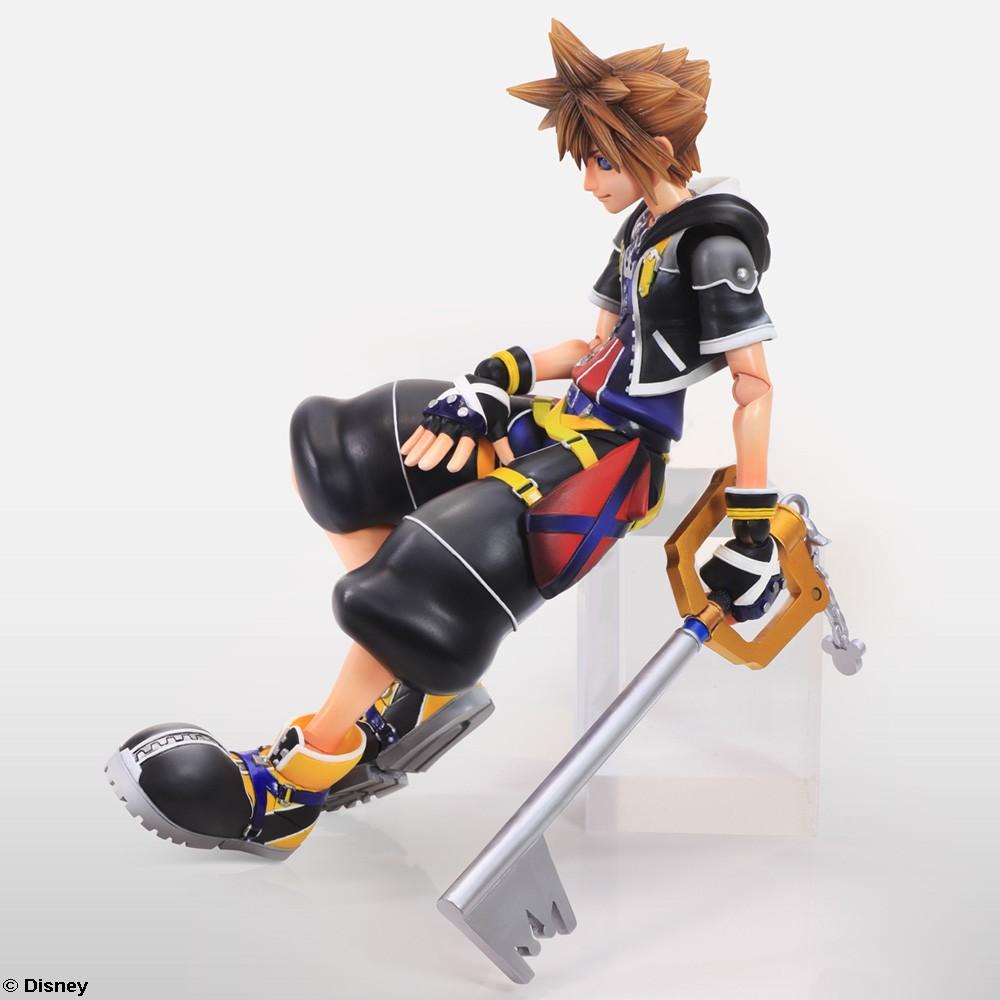 Sora Kingdom Hearts: Kingdom Hearts II Play Arts Kai Release Date & New Images
