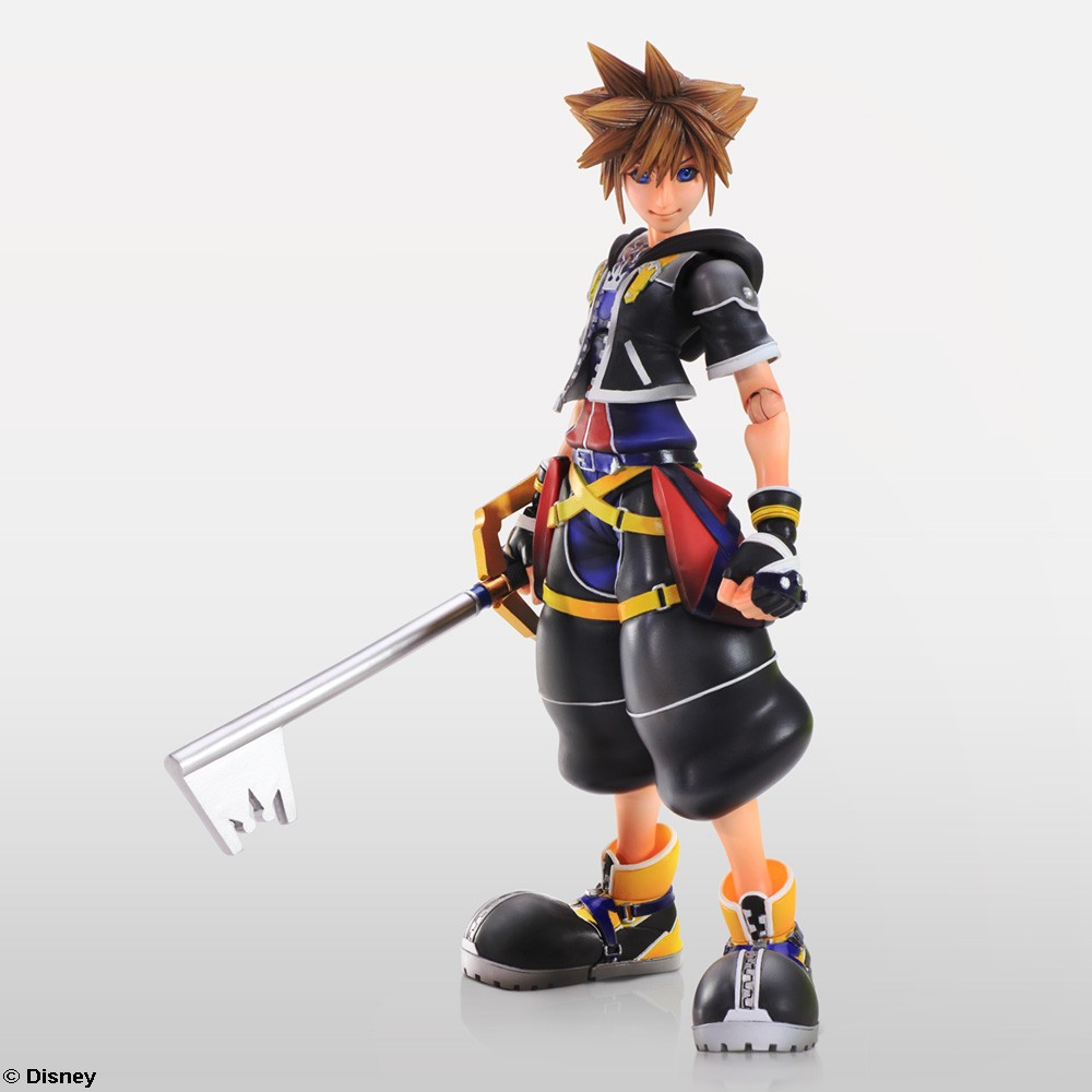Sora Kingdom Hearts 1520074: Kingdom Hearts II Play Arts Kai Release Date & New Images