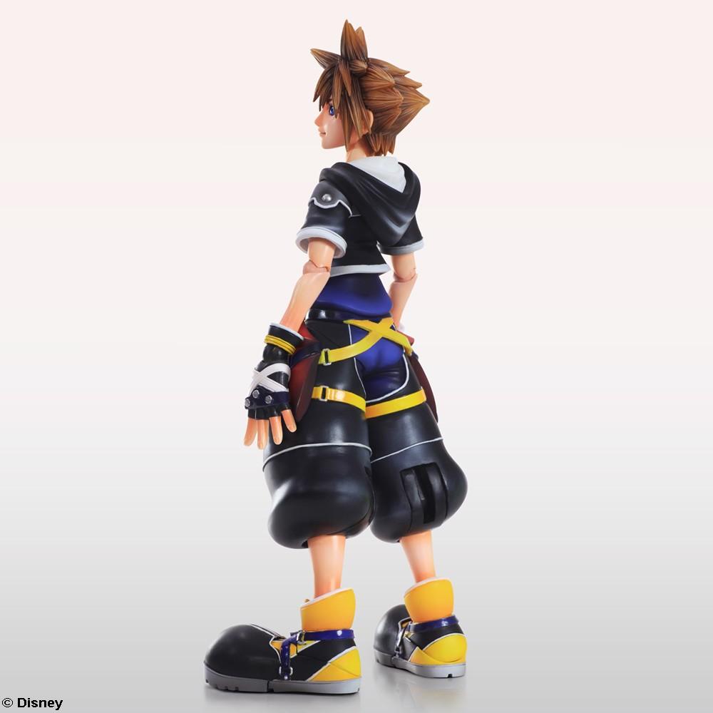 Sora Kingdom Hearts Image 745376: Kingdom Hearts II Play Arts Kai Release Date & New Images