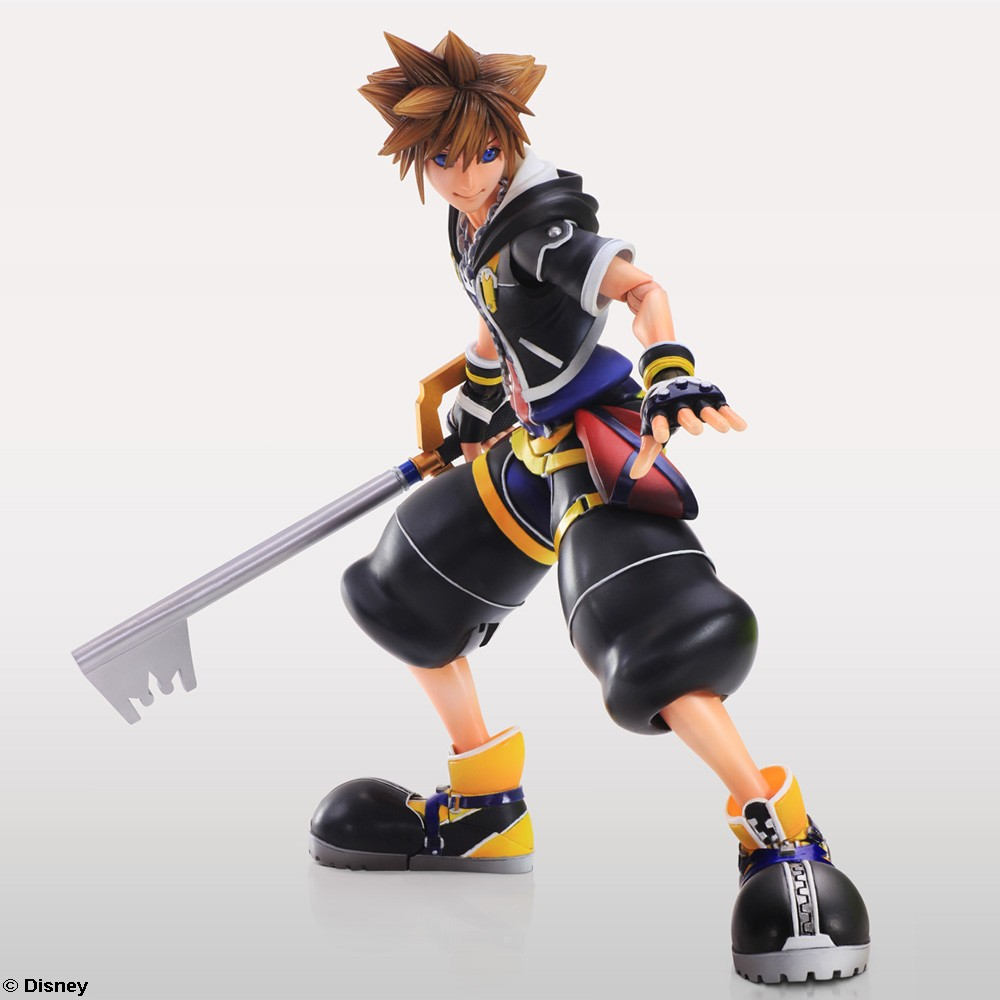 Sora Kingdom Hearts Kingdom Hearts: Kingdom Hearts II Play Arts Kai Release Date & New Images