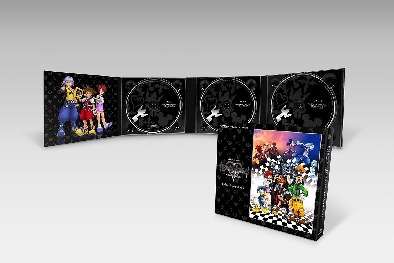 Portadas de la BSO de KH HD 1.5 & 2.5 ReMIX, póster de 2.5 y figura ...