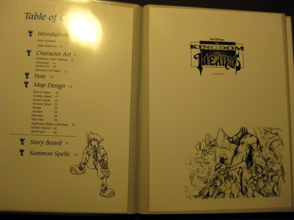 Hidden Treasure The Kingdom Hearts Design Document News Kingdom - Art design document