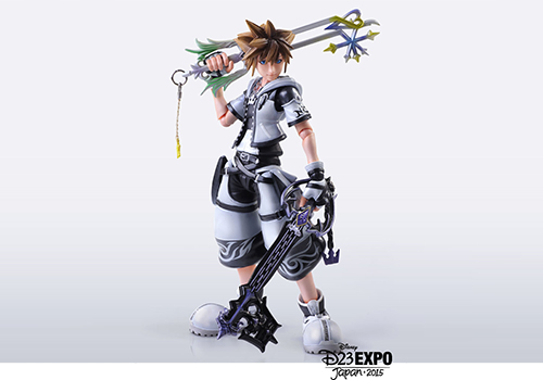News ▻ Signed Kingdom Hearts Print & Final Form Sora Play Arts ...