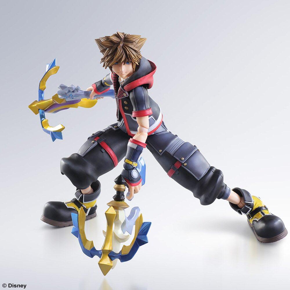 Sora Kingdom Hearts: KINGDOM HEARTS 3 Sora Play Arts Kai Releasing January 30