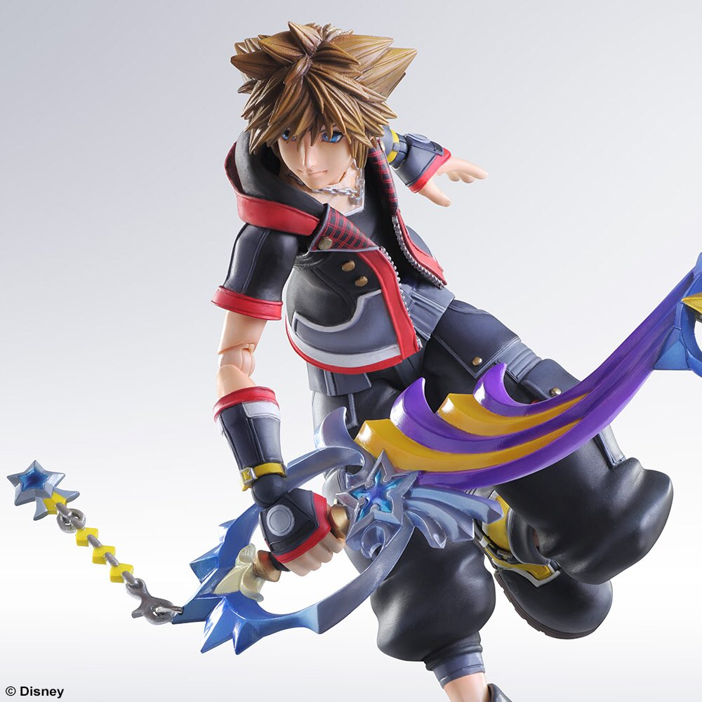 Sora Kingdom Hearts Image 745376: KINGDOM HEARTS 3 Sora Play Arts Kai Releasing January 30