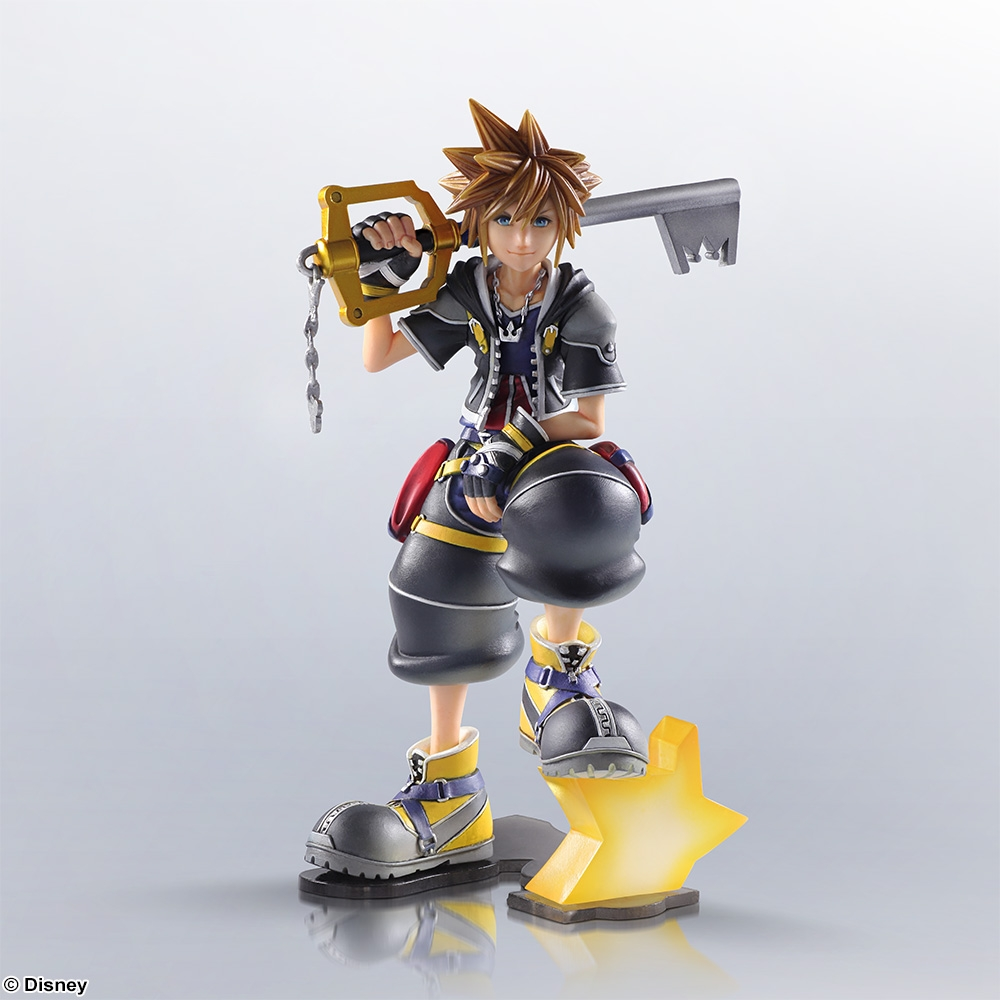 Sora Kingdom Hearts 1520074: Preorder New Kingdom Hearts II Sora Figure From SENA Store