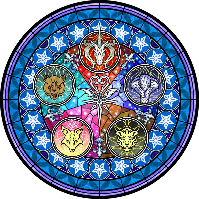 kingdom hearts stained glass clock exhibition opens at shinjuku station on jan 9th news. Black Bedroom Furniture Sets. Home Design Ideas