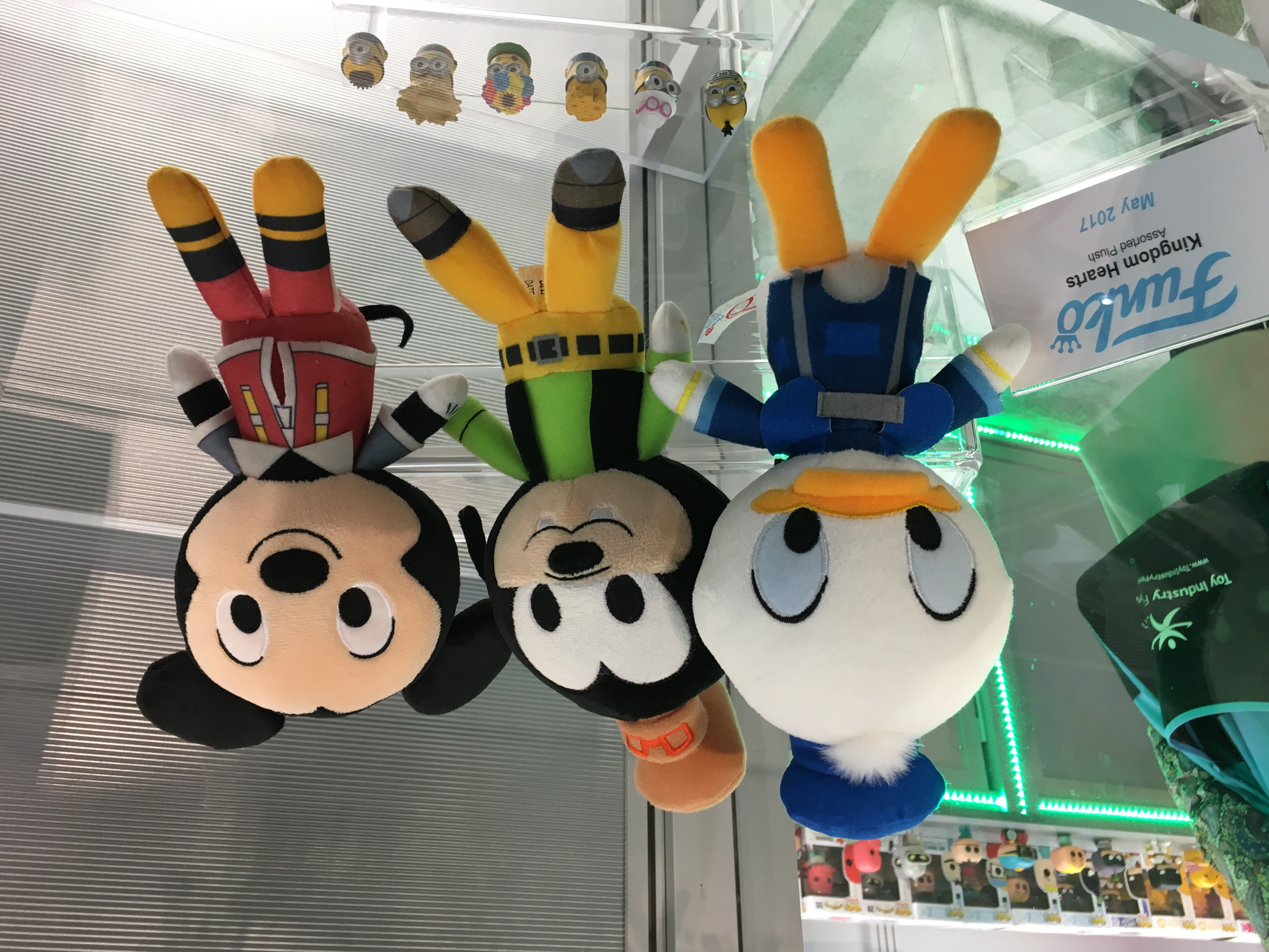 Closer Look at Kingdom Hearts Funko Pops and Plushies