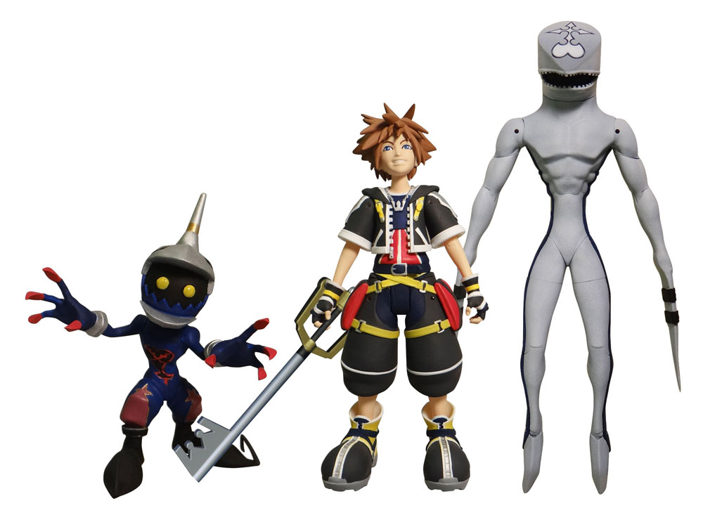 News ▻ - Diamond Select Toys Kingdom Hearts Figures Hit Comic Book