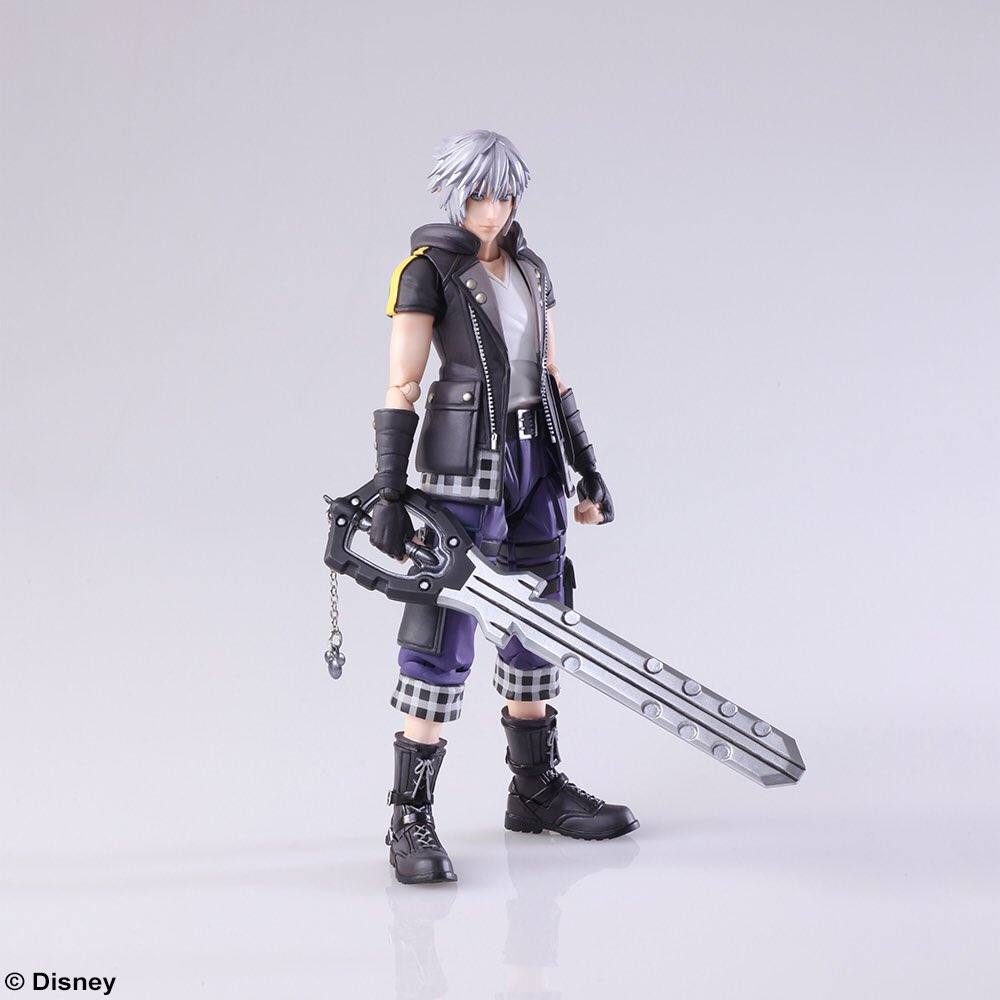 Kh3 Riku And Halloween Christmas Town Sora Bring Arts Revealed