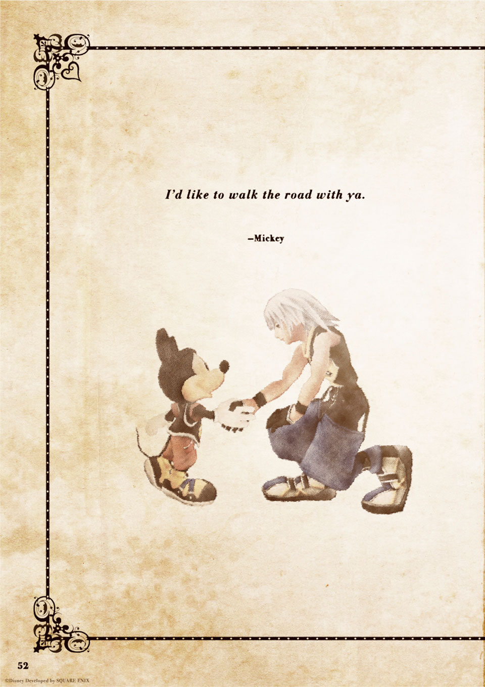 Kingdom Hearts Quotes Check out the KINGDOM HEARTS Memorial Leaflet!   News   Kingdom  Kingdom Hearts Quotes