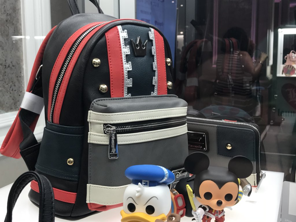 cbb41ca285d News ▻ Loungefly to release Kingdom Hearts 3 Sora-inspired backpack ...