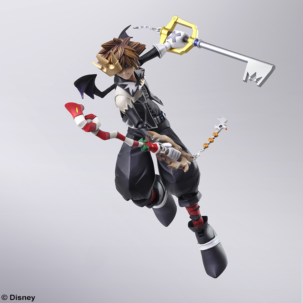 Kh2 Halloween Town And Christmas Town Sora Bring Arts Figures Coming
