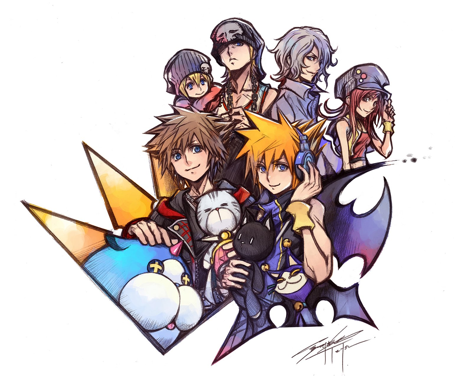 Nomura Shares Special Illustration To Celebrate The Release Of Twewy
