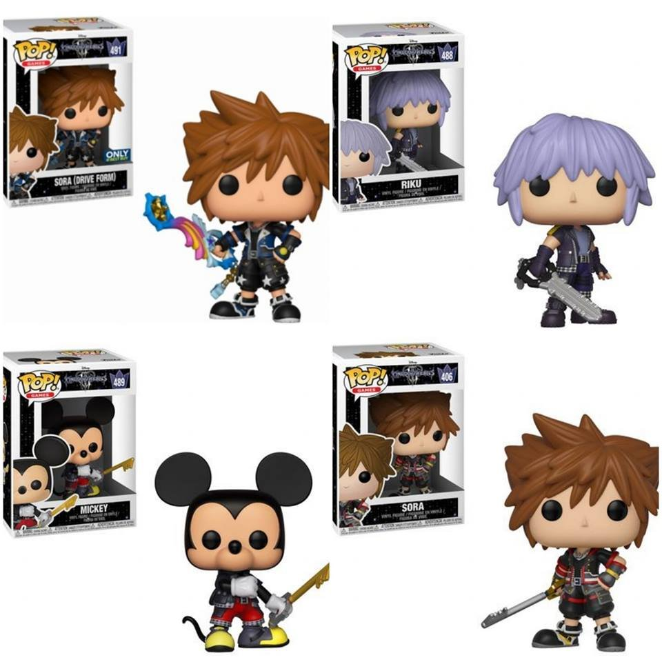 FUNKO POP RIKU KINGDOM HEARTS