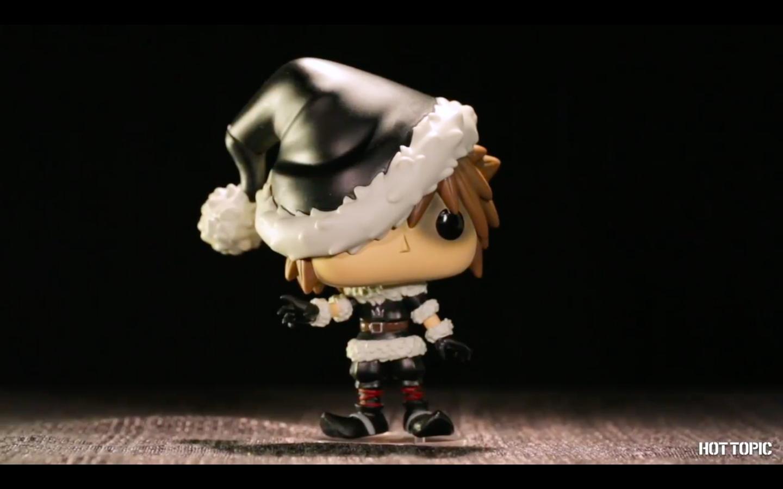 Kingdom Hearts Christmas.Ht Nerdette Reveals Christmas Town Sora Funko Pop Hot Topic