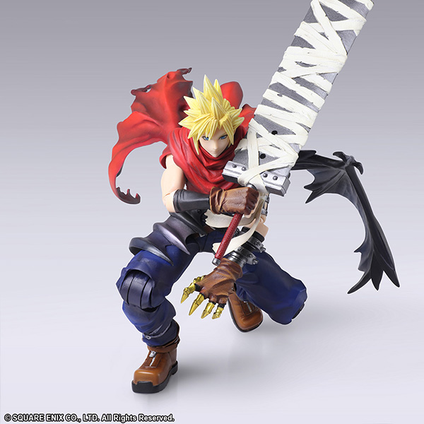 FINAL FANTASY VII Cloud Strife Another Form Bring Arts releasing May 2019 - News - Kingdom Hearts Insider