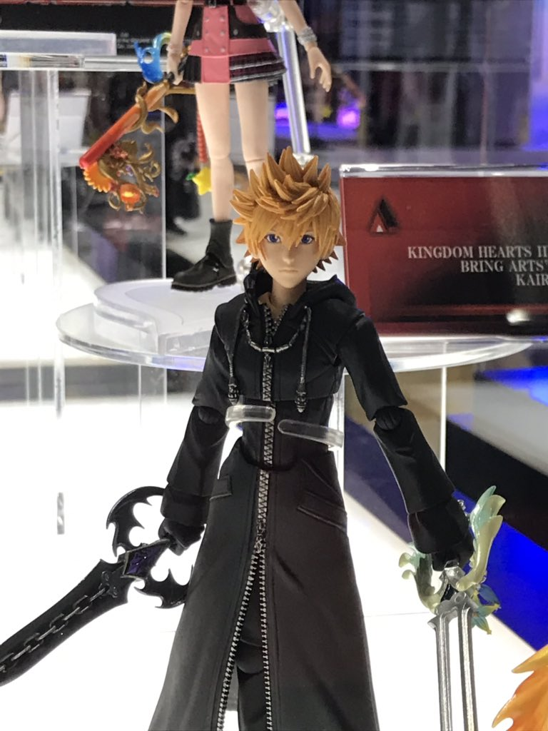 News ▻ , KINGDOM HEARTS 3 Roxas \u0026 Xion Bring Arts figures
