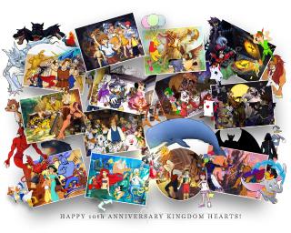 KH 10th Anniversary Mural