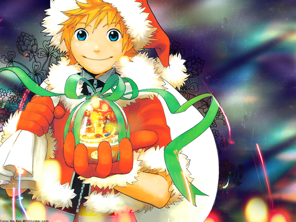 Kingdom Hearts Christmas Roxas bigking keywords and pictures
