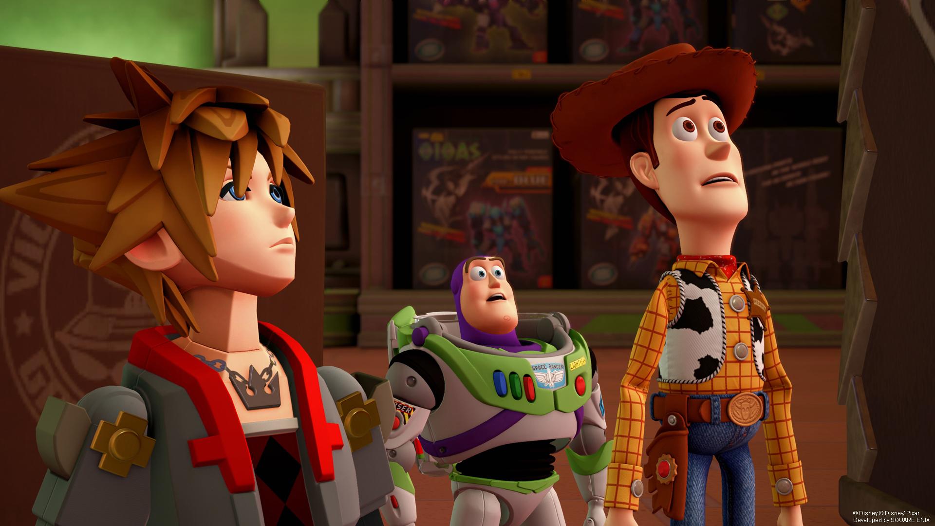Nomura discusses work on KINGDOM HEARTS, including Pixar properties