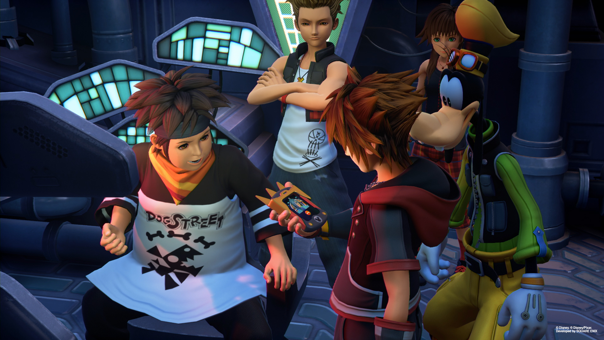 Kingdom Hearts Olette Square Enix Shares New...