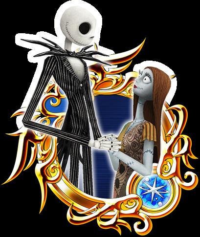 Jack & Sally - Kingdom Hearts Insider