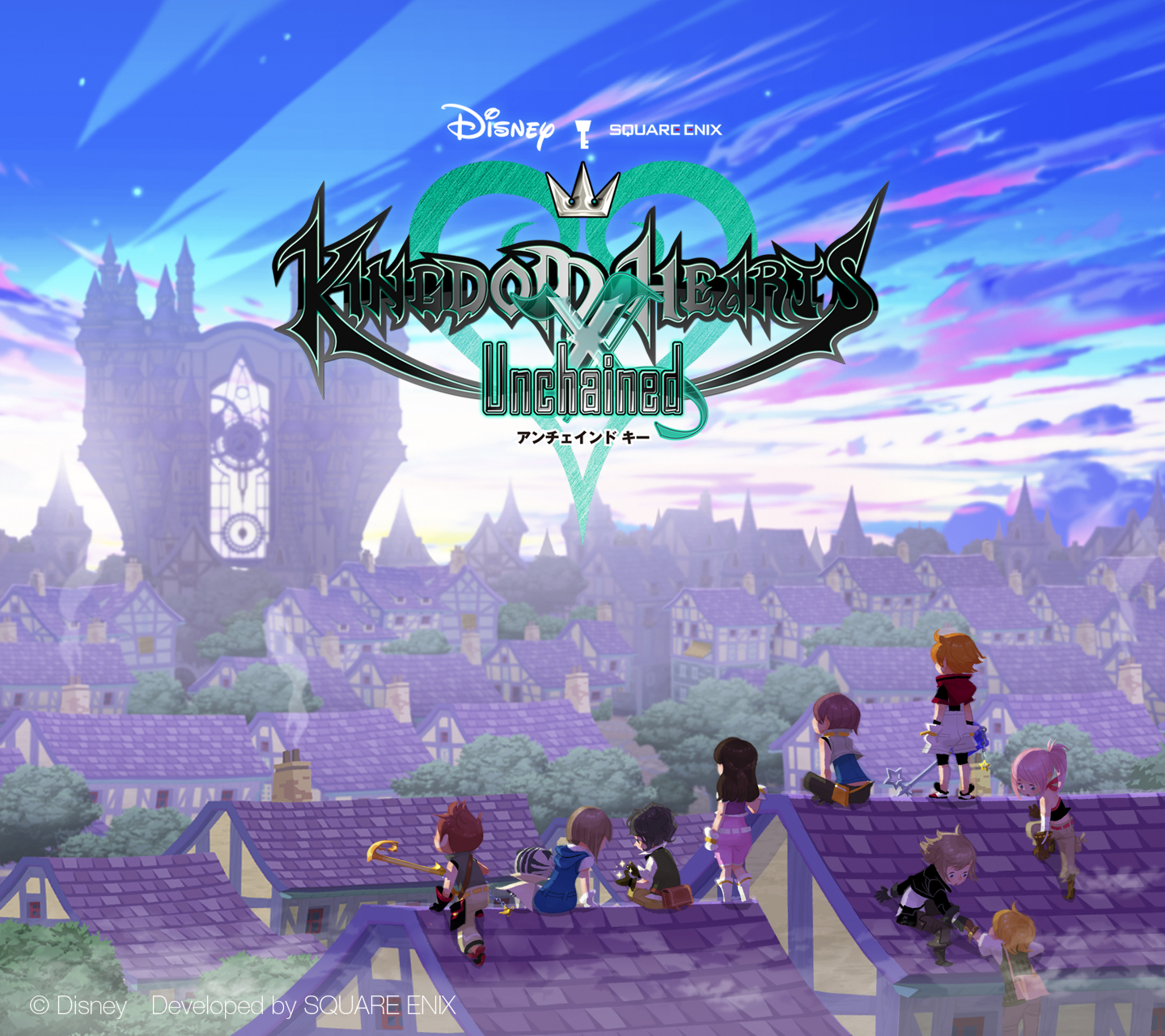Wallpapers - KINGDOM HEARTS Union χ[Cross] - Kingdom Hearts Insider