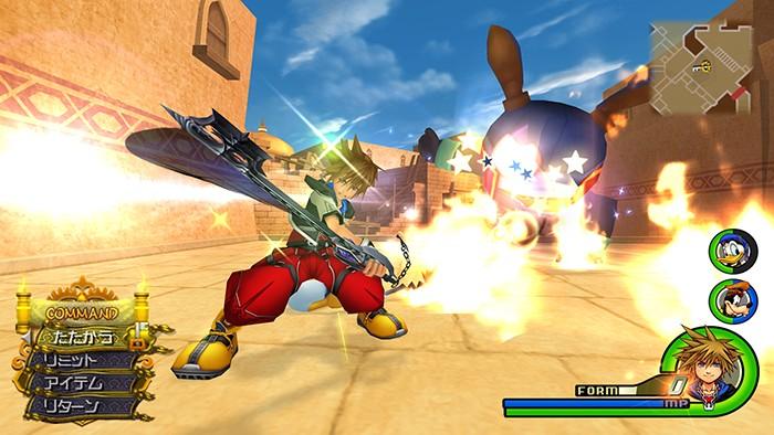 Loads of new Kingdom Hearts HD 2.5 ReMIX screenshots and renders ...