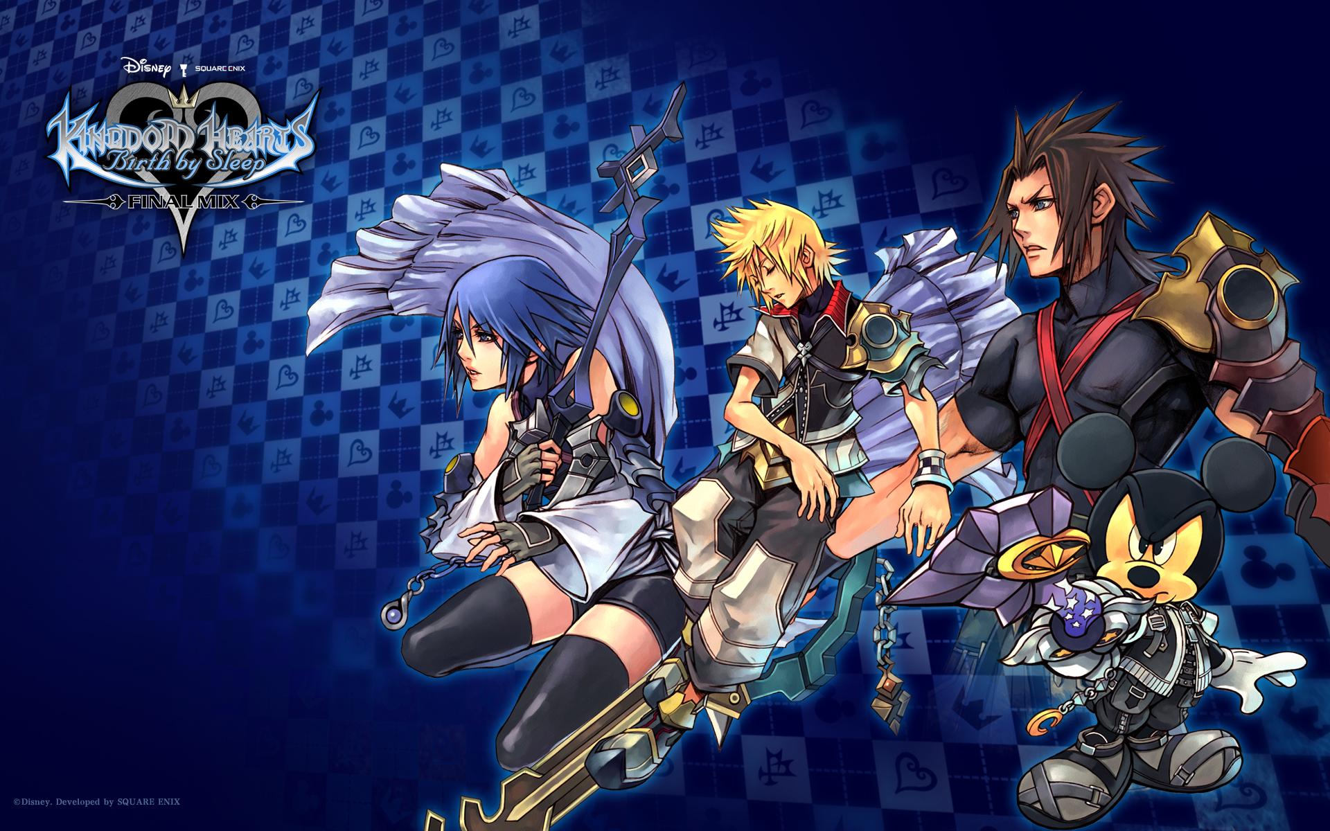 Wallpapers Birth By Sleep Kingdom Hearts Insider