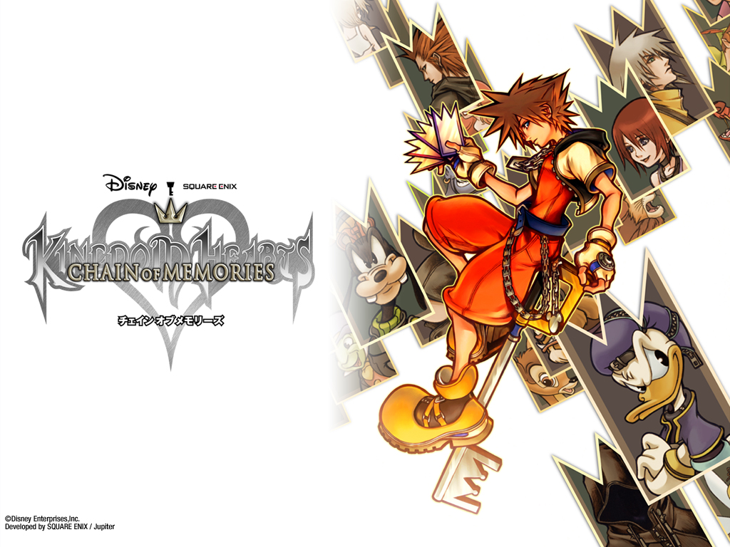 Index Of Kingdom Hearts Chain Of Memories Wallpapers 1024x768