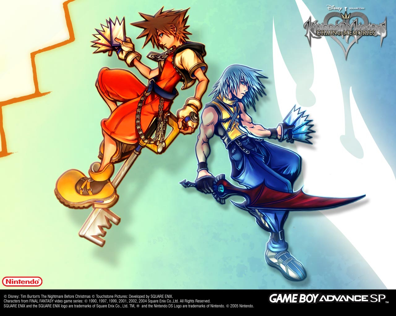 Wallpapers Chain Of Memories Kingdom Hearts Insider