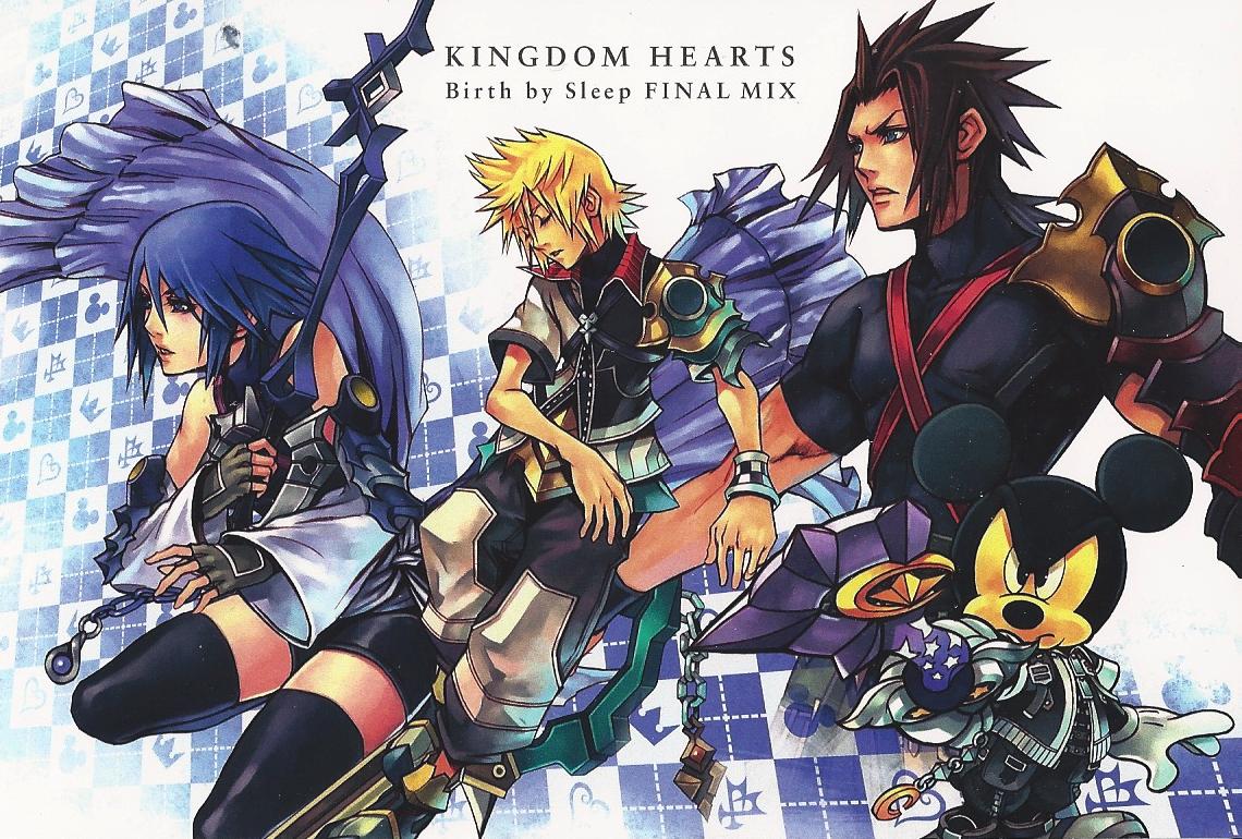 artwork dream drop distance kingdom hearts insider