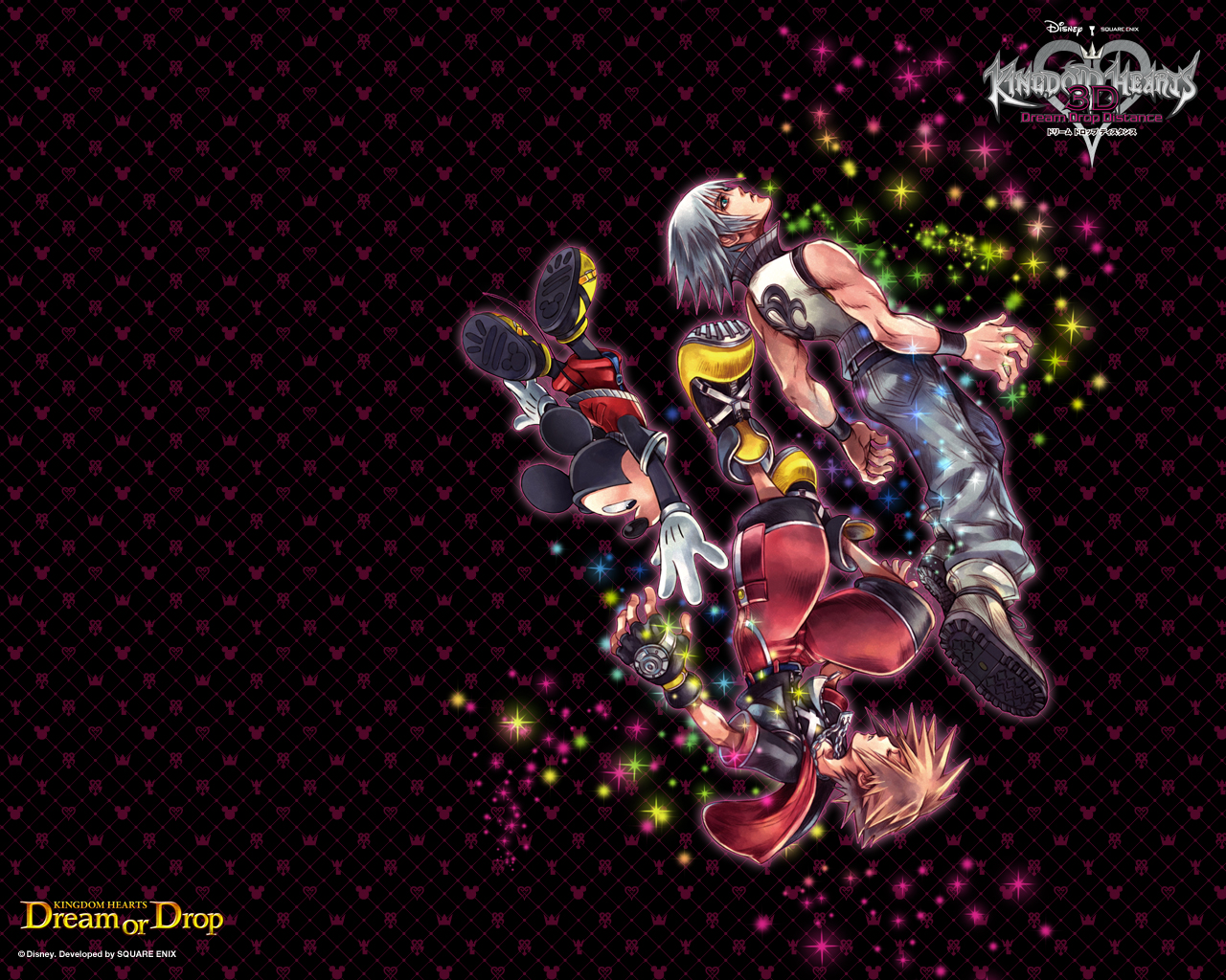 Wallpapers Dream Drop Distance Kingdom Hearts Insider