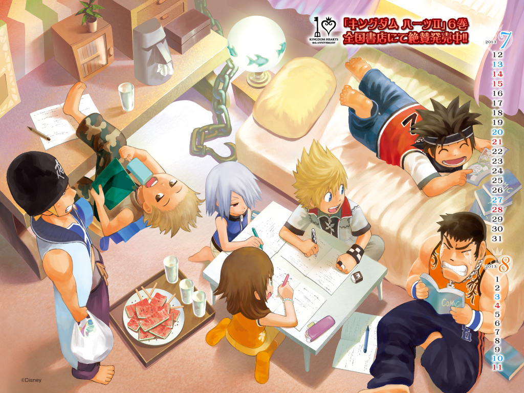 KINGDOM HEARTS 10th Anniversary Wallpaper 12